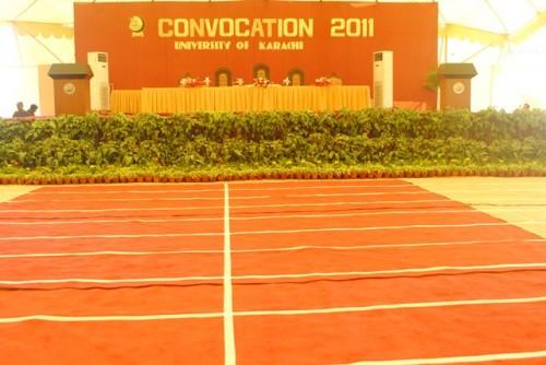 university of karachi convocation welcome