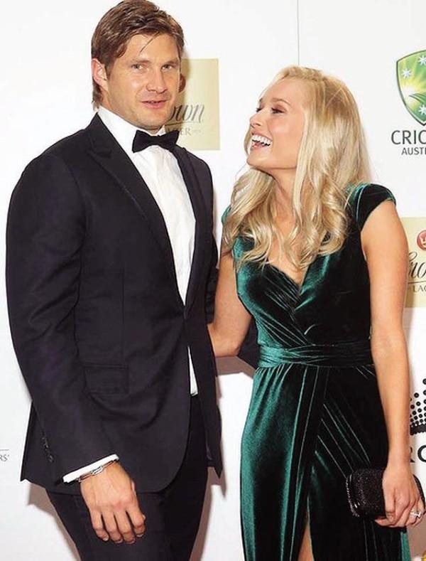watson and his girlfriend