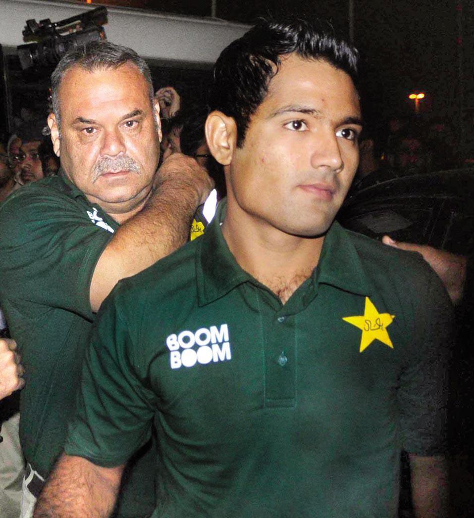Asad Shafiq and Dav Whatmore
