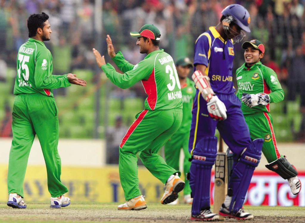 Bangladesh defeat Sri Lanka Asia Cup 2012