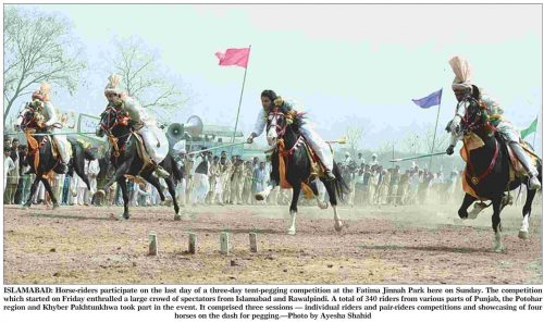 Horse Racing Competition in Islamabad