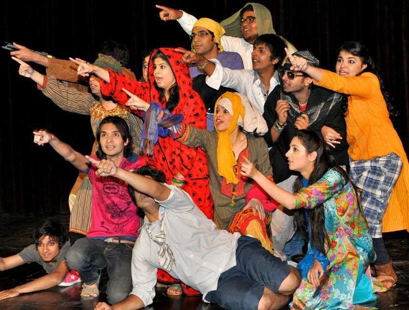 Al Hamra Student Drama Against