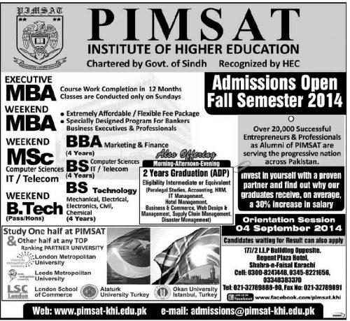 pimsat-admissions-2014