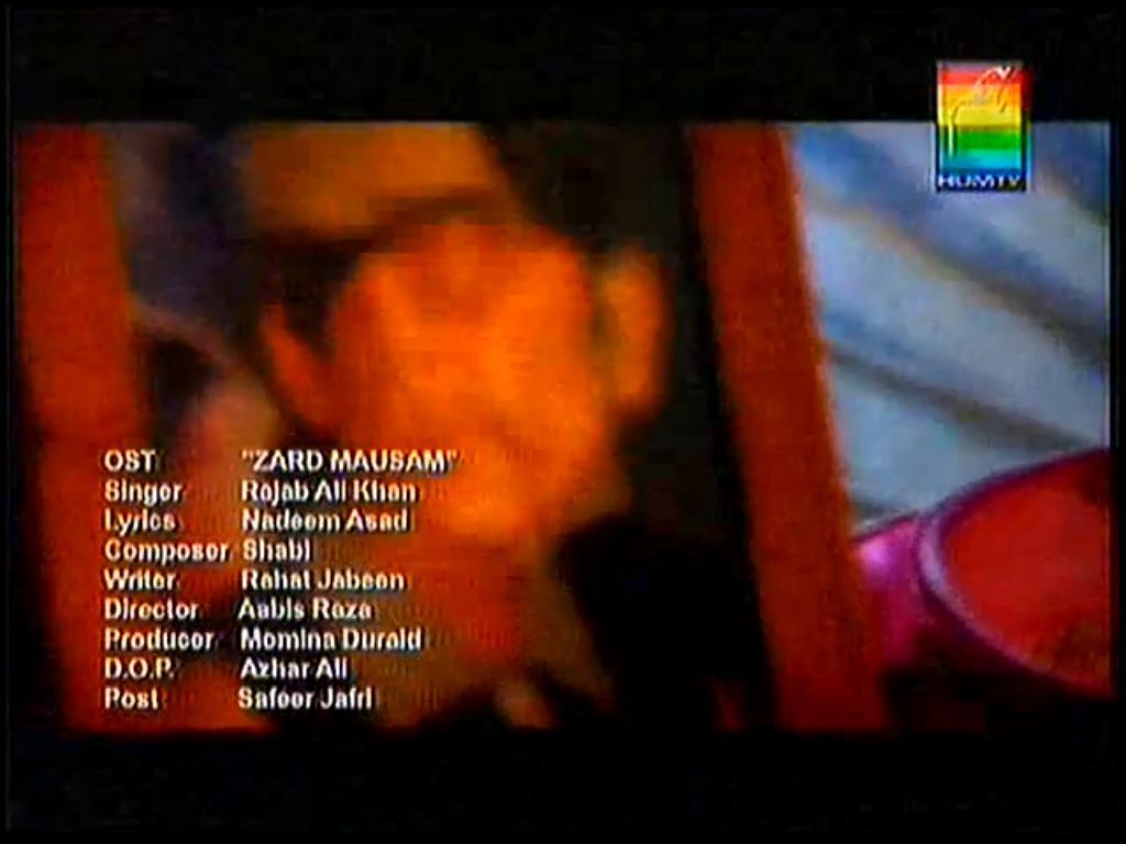 Zard Mausam OST Hum TV Drama