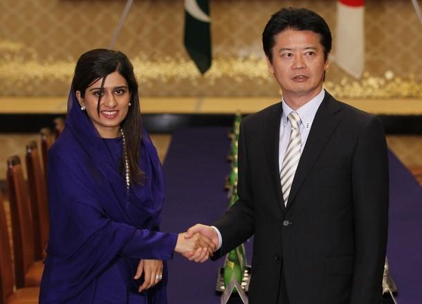 Hina Rabbani Khar salam