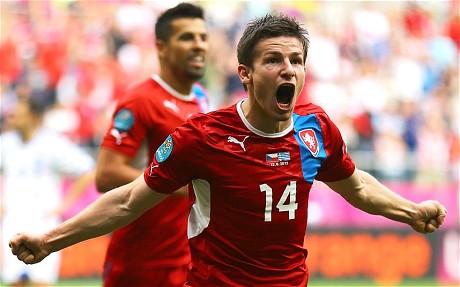 Euro 2012 Greece vs Czech Republic 1-2 All Goals Full Highlights