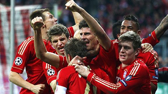 Amazing Mario GOMEZ Goal Germany vs Portugal Euro 2012