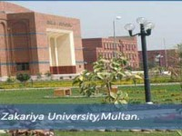 BZU Multan BA BSc Bcom 1st Annual Result 2012