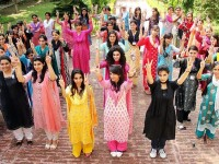 Lahore college for women girls picture