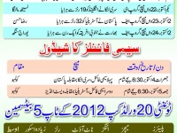 T20 World Cup 2012 Semi-Final - Schedule And Detail