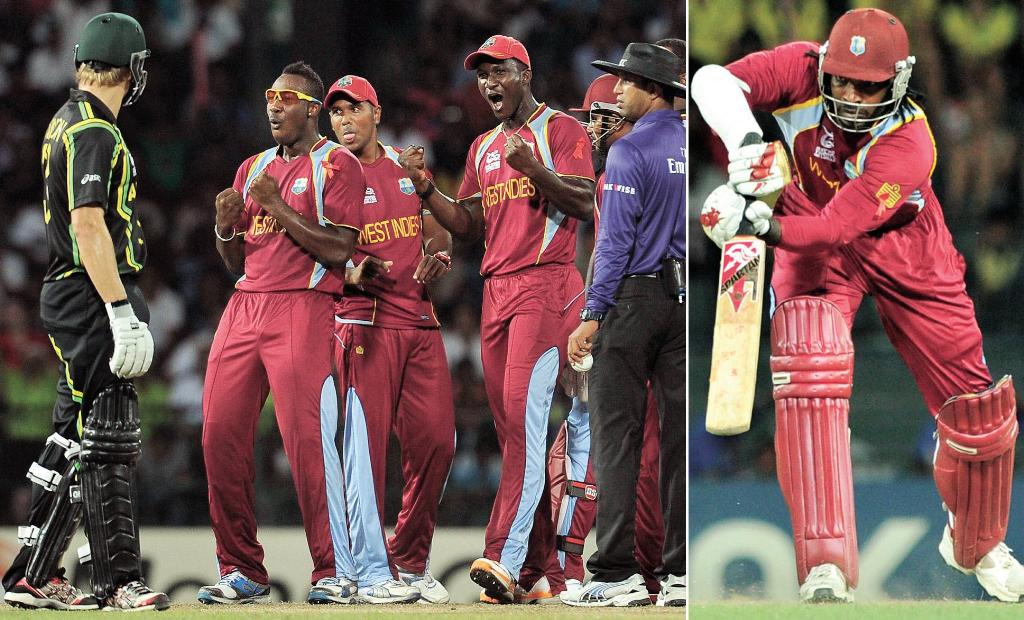 West Indies won the T20 Match from Australia 2012