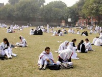 Islamia College Cooper Road Lahore girls in Ground