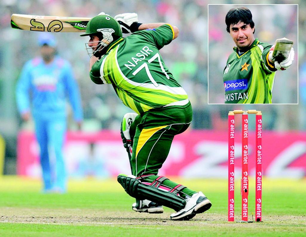 nasir jamshaid against india