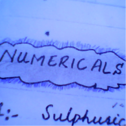 Numerical 9th Class