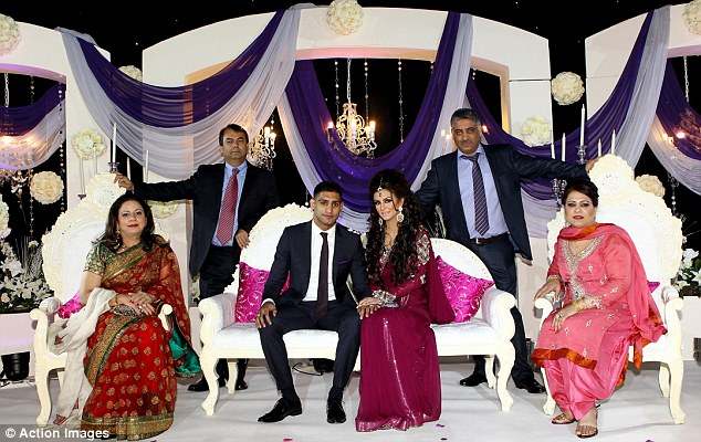 Amir Khan Marriage Picture