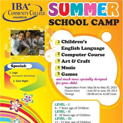 IBA School Summer Camp 2021