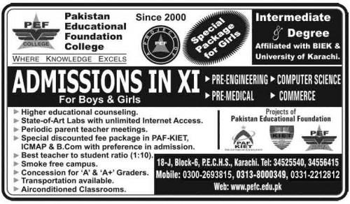 PEF-admissions-2014