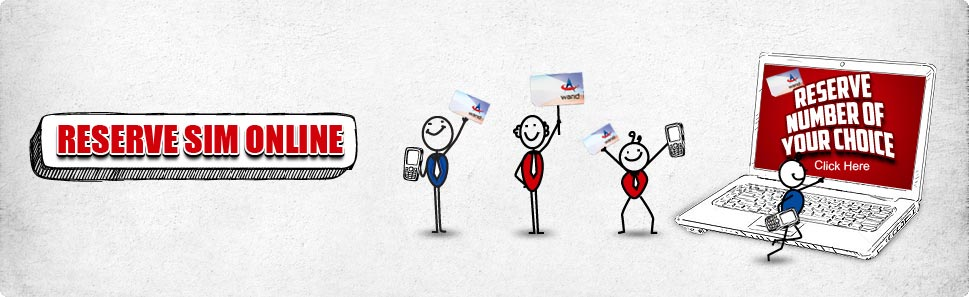 Warid Launches Reserve Sim Online