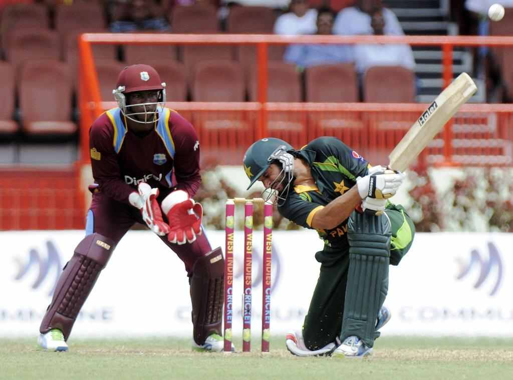 shahid afridi against west indies