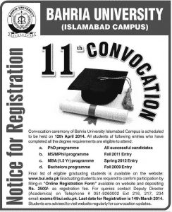 Bahria-University-Convocation-2014