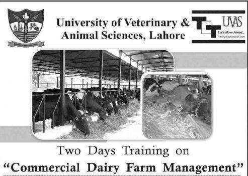 UVAS-Lahore-Training-Feb-2018