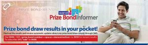 Warid Prize Bond Informer Offer First Time in Pakistan