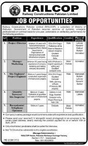Railcop-Railway-Pakistan-Jobs-2018