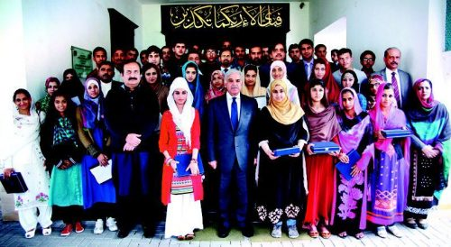 Position Holders Group Photo with Shahbaz Sharif