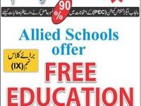 Free Education Allied School