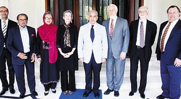 University of Louisville with Mian Shahbaz Sharif