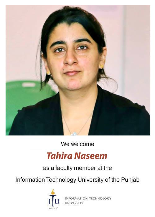 Dr Tahira Naseem