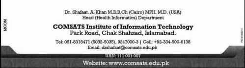 MS-admissions-in-Comsats-Insitute
