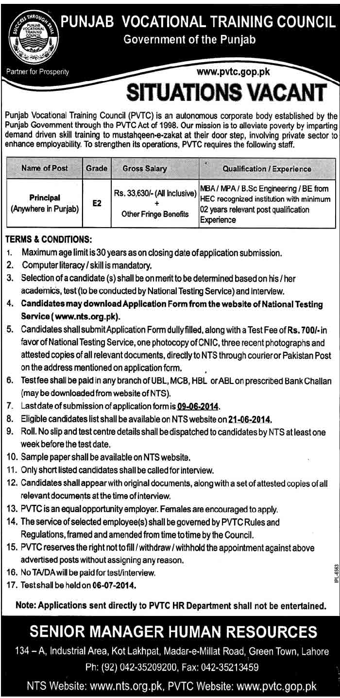 Principal-Jobs-in-Punjab-2014