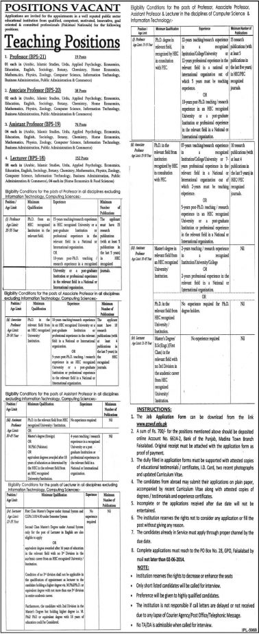 Teaching-Positions-in-Faisalabad