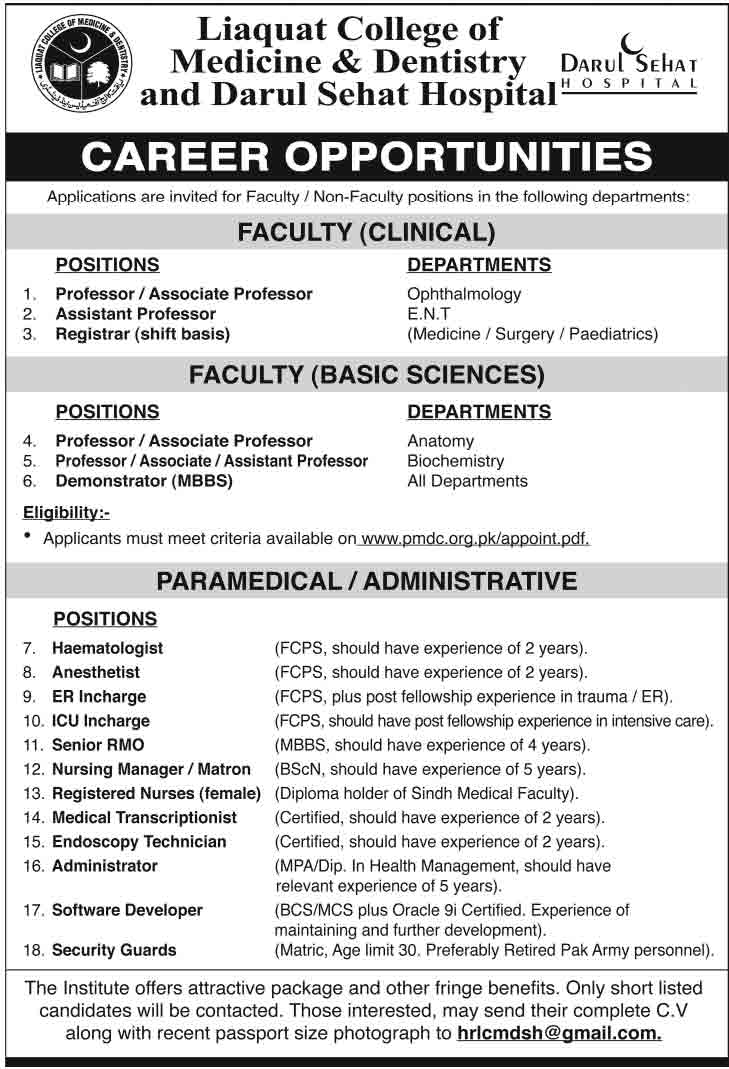 liaquat-medical-college-jobs-2014