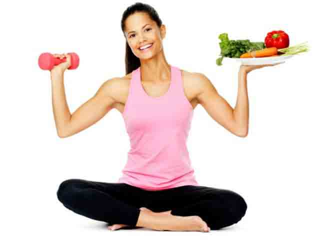 Live 10 Years younger Add a Balanced Diet and Exercise