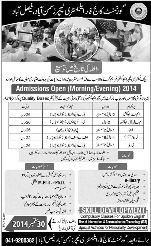 Teaching-Courses-in-Faisalabad