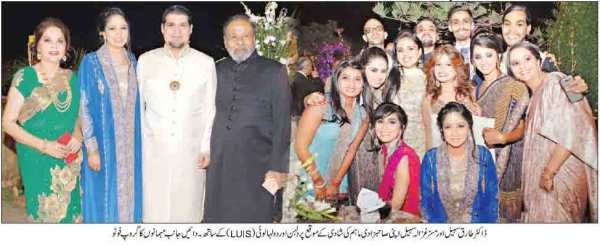 Maham Married with Luis Group Photo