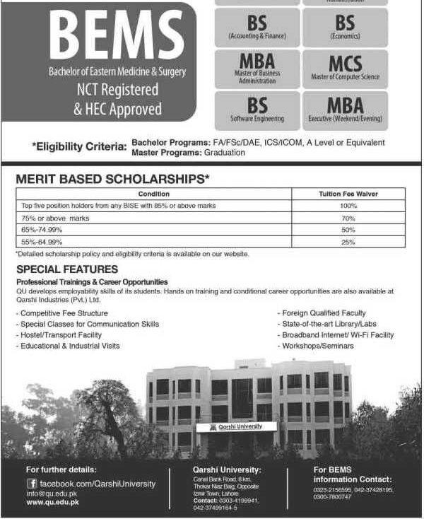 Qarshi-University-Admissions-2021