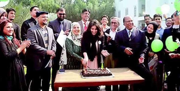 Iqra-University-Cake-Cutting
