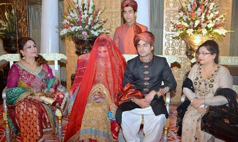 Laraib mubashir Shorish Marriage Group Photo