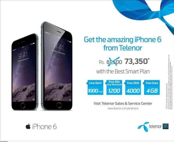 Telenor-iPhone-6