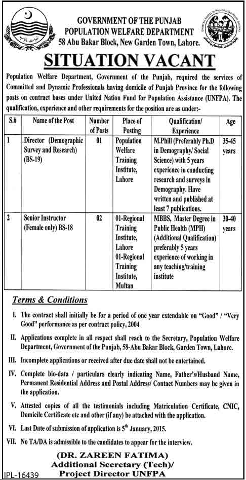 polulation-welfare-Jobs-in-
