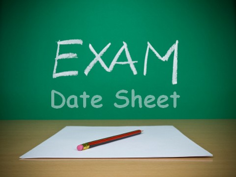 Date-Sheet-of-Exams