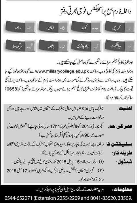 Military-College-Jhelum-admission