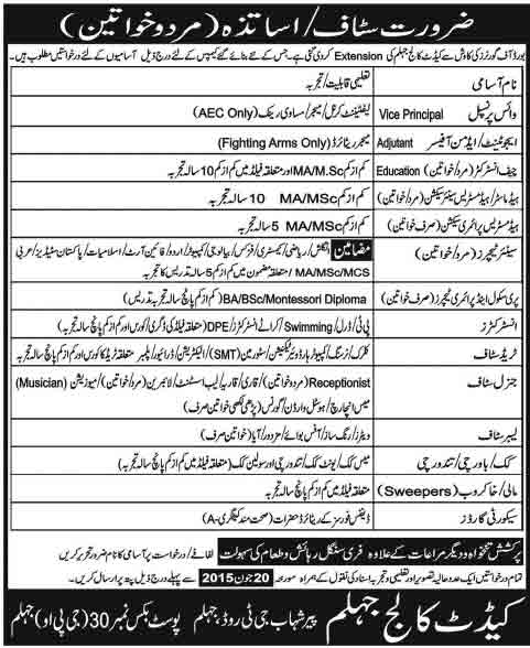 teaching-jobs-in-cadet-college