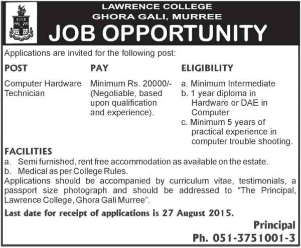 computer-technician-jobs-in-murree