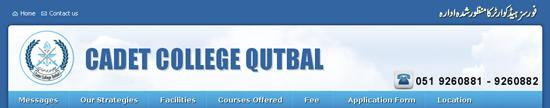 Cadet-College-Qutbal-Admission