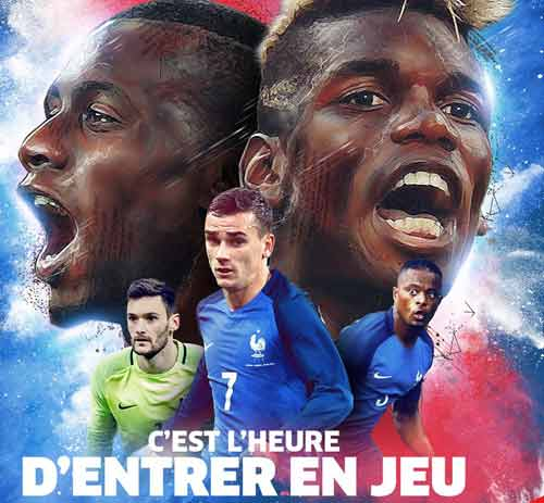 Uefa Euro 2016: France v Romania 11 June 2016