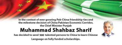 CM Shahbaz Sharif Chinese Language Scholarship 2017 Scheme